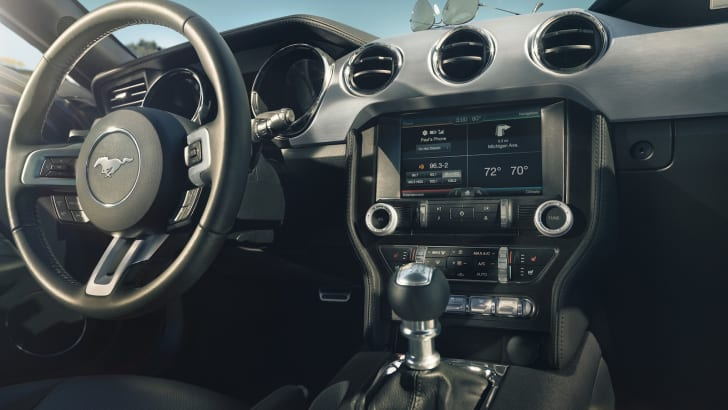 Ford Mustang - Interior LHD