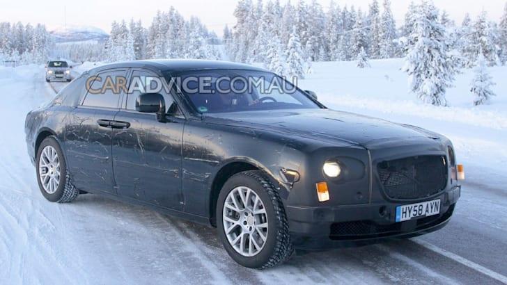 2010 Rolls-Royce RR4 spied