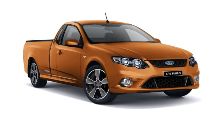 Ford Falcon To Celebrate 50th Anniversary With Six Limited Edition