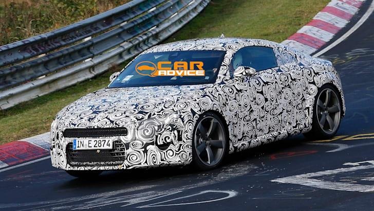 Audi TT Spied Nurburgring - 3