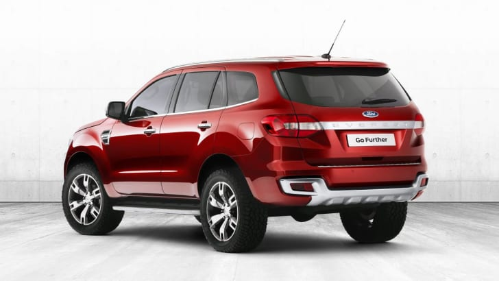 Ford Everest concept