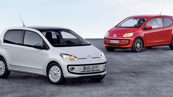 Der neue Volkswagen up! (Vier-Tuerer)