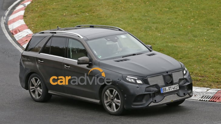 Mercedes ML-GLE Plugin hybrid 2