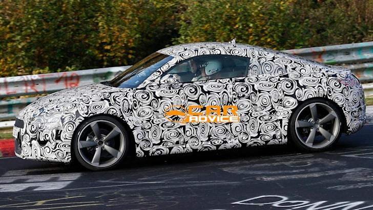 Audi TT Spied Nurburgring - 5
