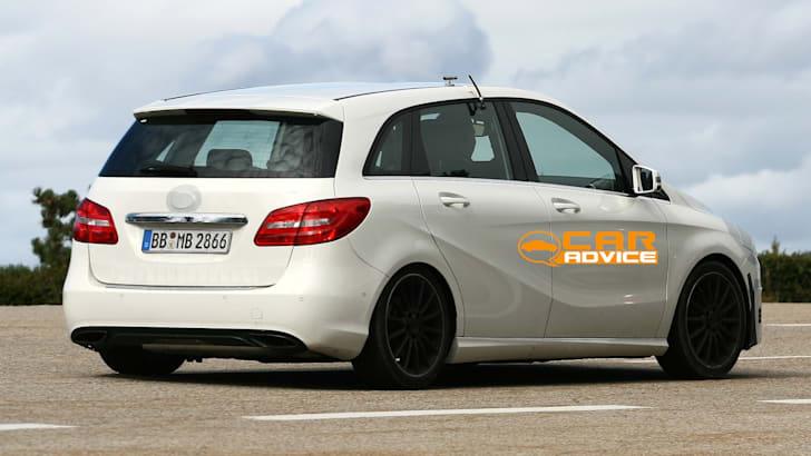 Mercedes-Benz B-Class Facelift Spied - 5