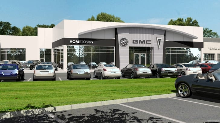 Buick-Pontiac-GMC Dealers Sign Up For A New Facility Image
