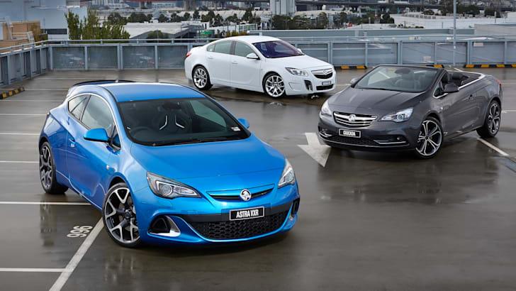 Holden Astra VXR Insignia VXR Cascada