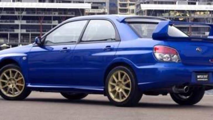 Subaru Impreza WRX STi MY06