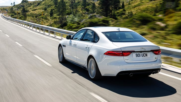 18MY Jaguar XF V6S.
