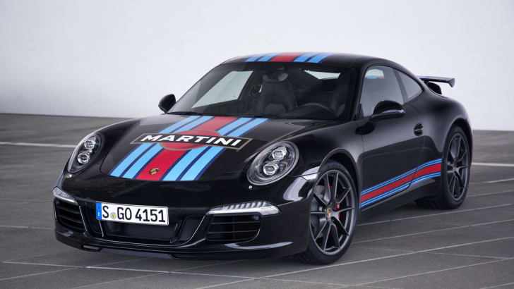 Porsche 911 Carrera S Martini Racing Edition black