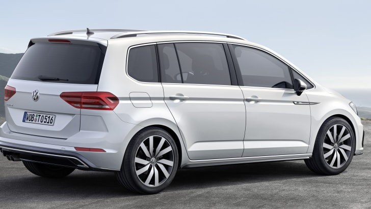 Der neue Volkswagen Touran R-Line
