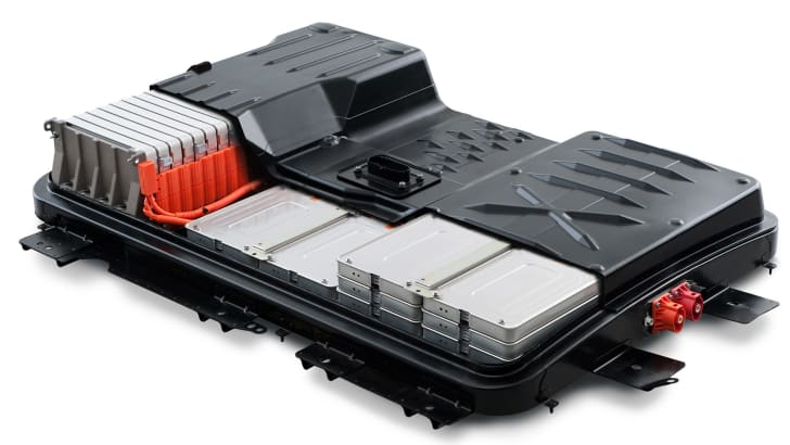 Nissan Leaf lithium-ion battery pack