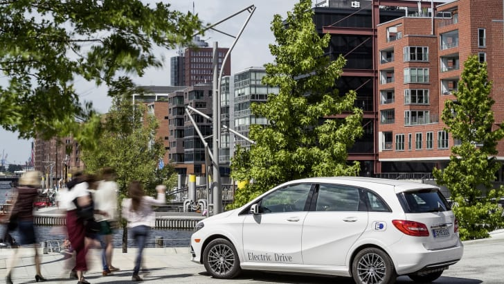 Mercedes-Benz B-Klasse Electric Drive / Mercedes-Benz B-Class Electric Drive