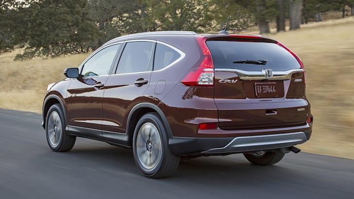 2015 Honda CR-V facelift - rear