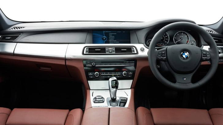 BMW 7 Series M Sport Interior
