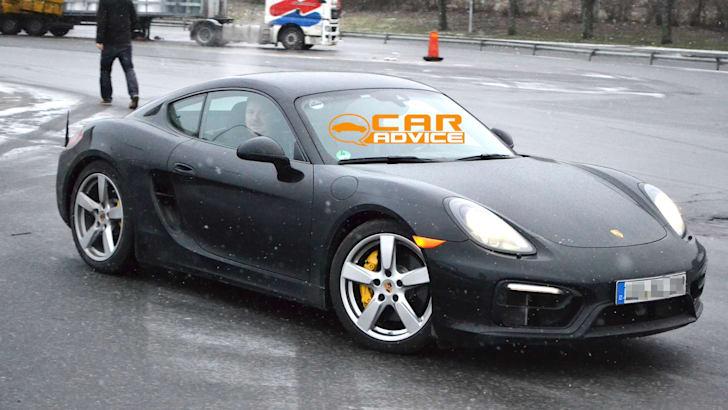 Porsche Cayman GTS Spied - 3