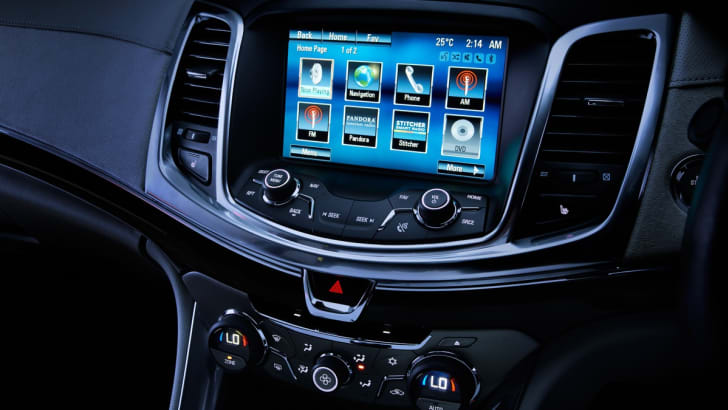 Holden VF Commodore: most advanced MyLink infotainment