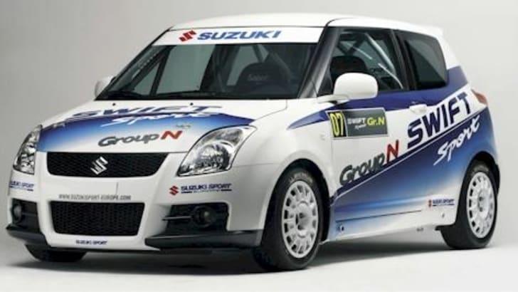 2007 Suzuki WRC car