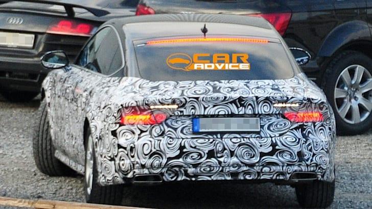 Audi A7 Facelift Spied - 2