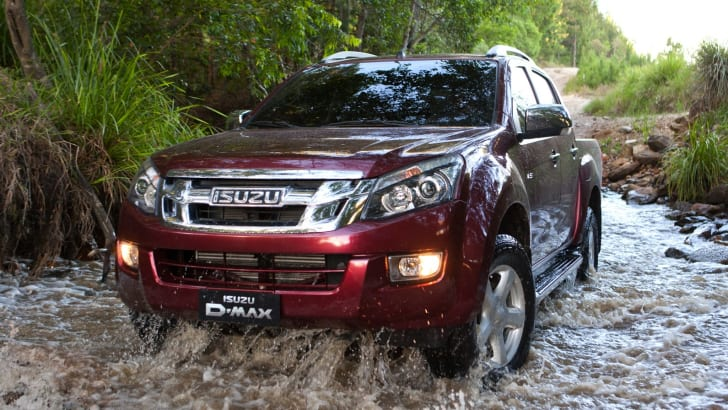 Isuzu D-Max water run