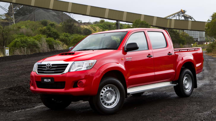 2011 Toyota HiLux SR Double Cab 4x4 Turbo Diesel