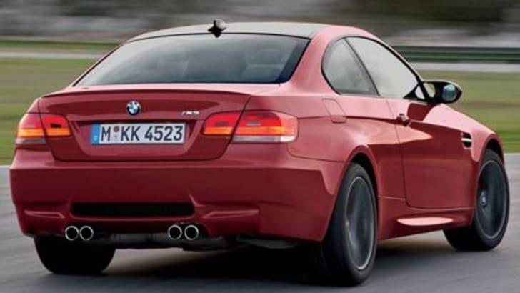 2008 BMW M3 Rear