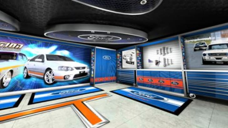 Evolution Garages Showroom