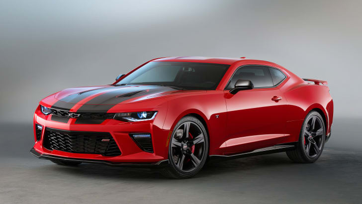 Camaro SS Black Accent Package concept