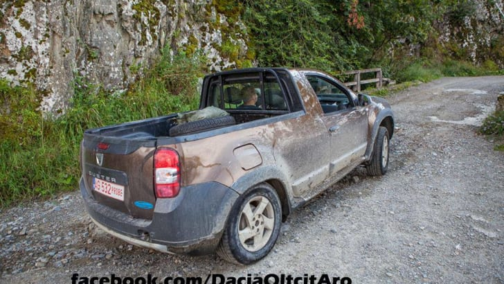 Dacia Duster pick-up 1