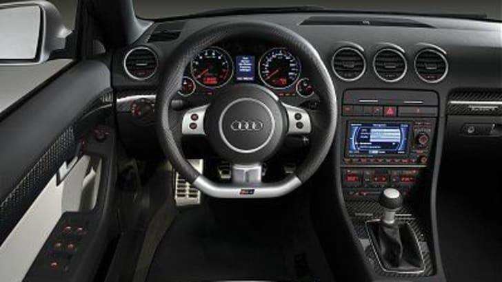 Audi RS4 Cabriolet Interior