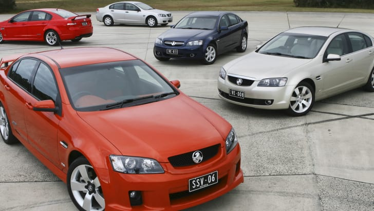 2006 Holden VE Range