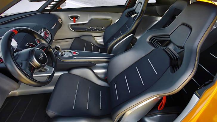 Kia GT4 Stinger cabin