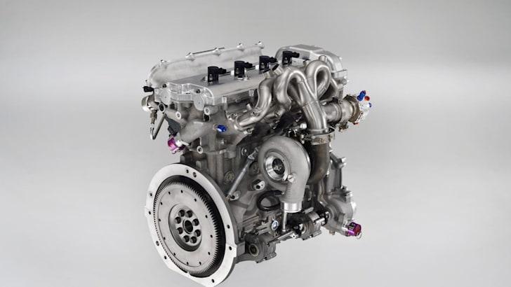 Yaris Hybrid R Engine 3