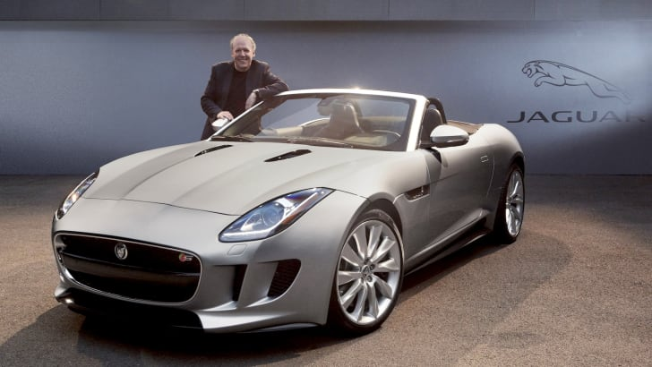 Ian Callum with Jaguar F-Type