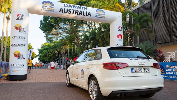 Audi A3 Sportback 1.4 TFSI COD at World Solar Challenge - 1