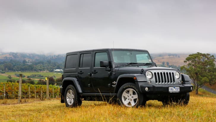 Jeep Wrangler Unlimited Freedom 2014-87