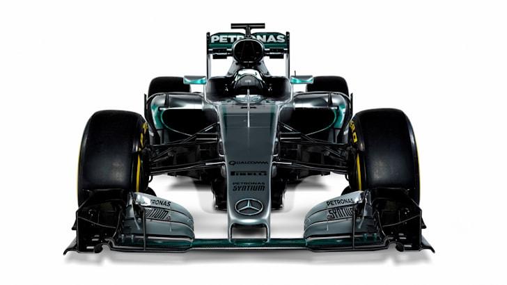 Mercedes F1-W07-Hybrid-1