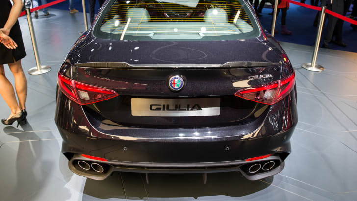 Alfa Romeo Giulia - 2015 IAA September 17 - 27, 2015, Frankfurt, Germany