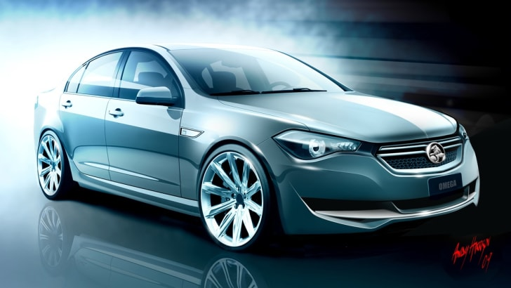 Holden VF Commodore design concept