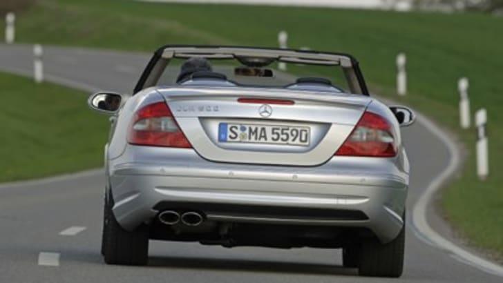 Mercedes Benz CLK 550 2007