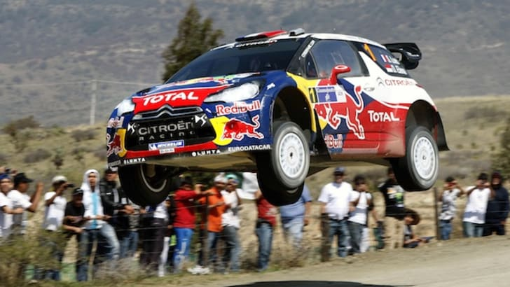 Citroen - Loeb in Mexico 2012