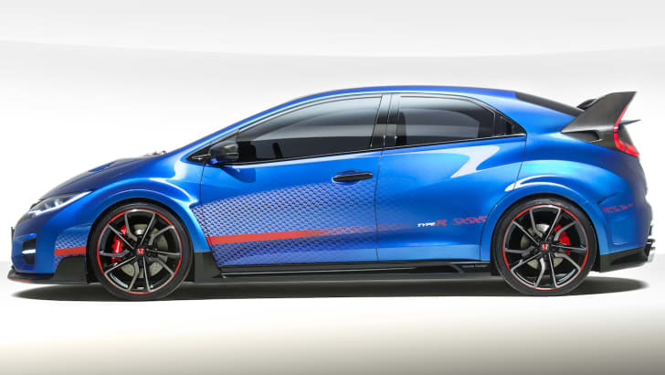 Honda Civic Type-R Concept Photograph: James Lipman +44 7803 885275
