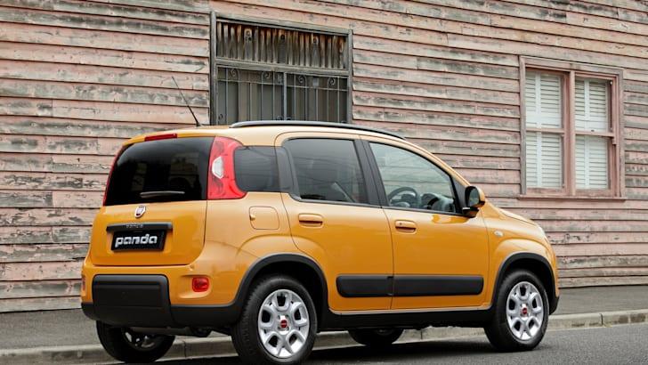 Fiat Panda Trekking rear side