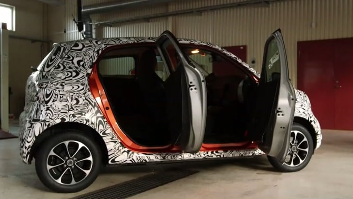 Smart ForFour Spied-3