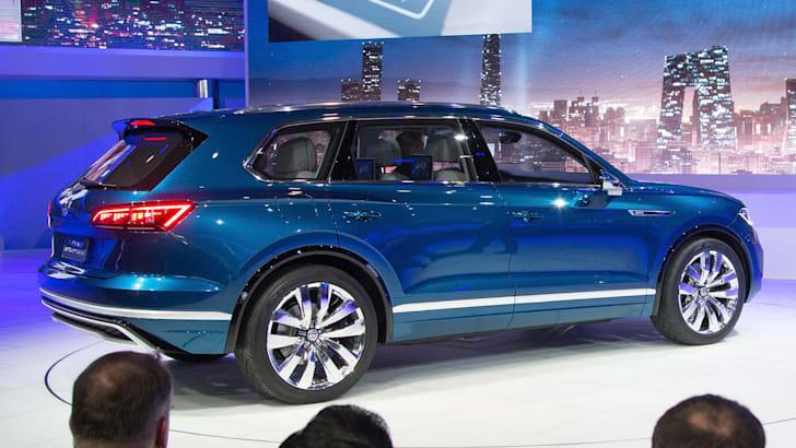 Volkswagen Pressekonferenz auf der Auto China 2016 in Peking