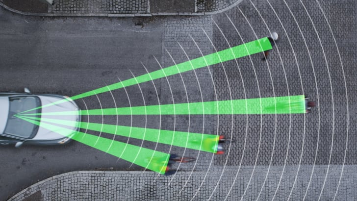 Volvo Pedestrian and Cyclist Detection System - 2