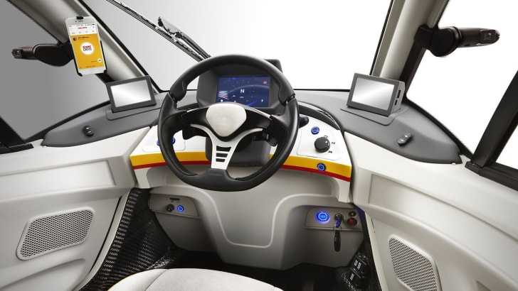Shell Concept Car_Dashboard