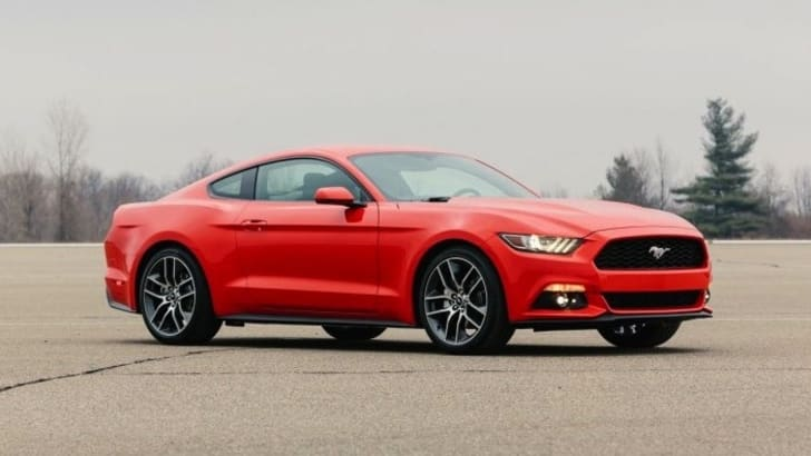 Ford Mustang static side leaked