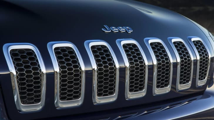 Jeep Cherokee grille