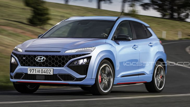 2021 Hyundai Kona N Coming Soon Australia Likely Update Spied On Video At The Nurburgring Caradvice